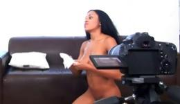 Ready to see interracial intercourse including awesome chavette with huge bazongas?